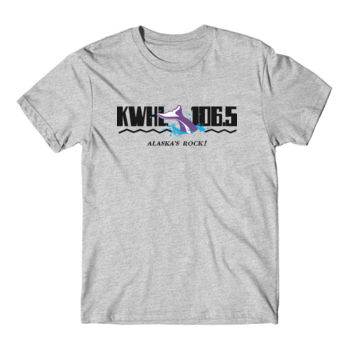 KWHL LOGO - S/S TEE - LIGHT HEATHER GRAY Thumbnail