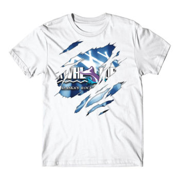 KWHL RIPPED - S/S TEE - WHITE Thumbnail